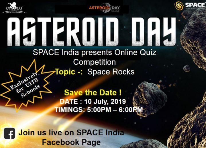 Online Asteroid Day Quiz Competiton